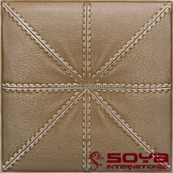 faux tin painting metallized ceiling tiles 3d embossed old age metallized ceiling panels