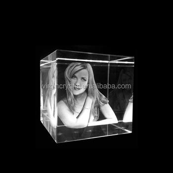 3d Glazen Kubus.3d Lasergravure Glas Kubus Fotolijst Souvenir Geschenken Buy Glazen Kubus Fotolijst Fotolijst Geschenken Kristal 3d Lasergravure Foto Product On