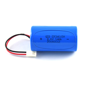 Cylindrical ER34615 Battery Li-ion 13000mAh Battery with PCB and cable