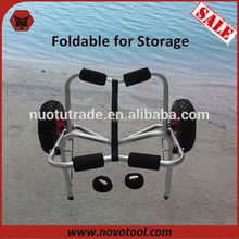 Manufacturer Newly Design Foldable Multifunctional Kayak Trailer Racks with Two-Wheel