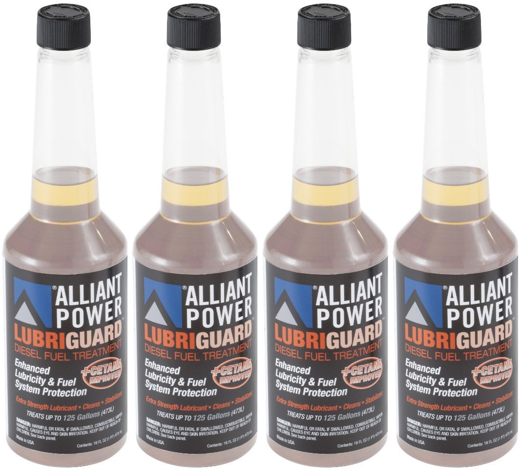 Alliant Power LUBRIGUARD Diesel Fuel Treatment - 4 Pack of Pints # AP0510