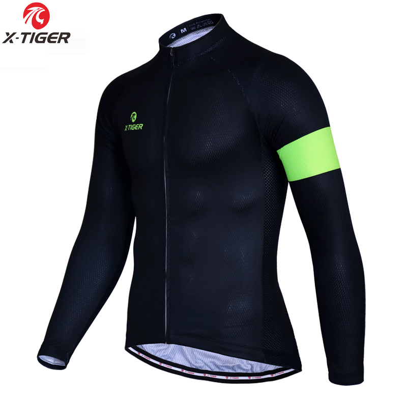 Alibaba.com / X-TIGER Man's Pro Long Sleeve Cycling Jersey Warm Bike Clothing MTB Bicycle Clothes Wear Ropa Ciclismo Bicycle Cycling