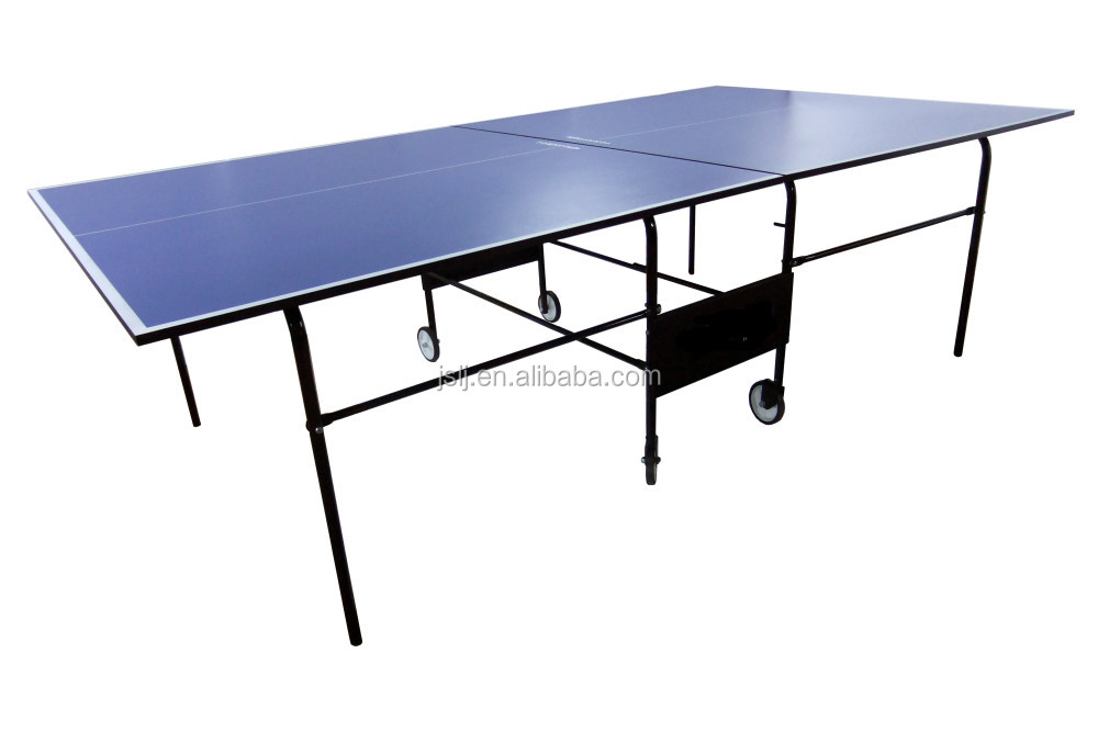 Double Folding Table Legs Waterproof Ping Pong Tables Outdoor Indoor D9408