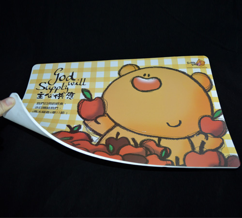 OEM design printed custom eva foam placemats
