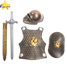 Funtoys CE <span class=keywords><strong>armor</strong></span> warrior sword shield helm <span class=keywords><strong>larp</strong></span> cosplay kostuum voor kind