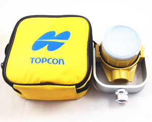 Yellow Single Prism w/Bag FOR TOPCON SOKKIA total stations