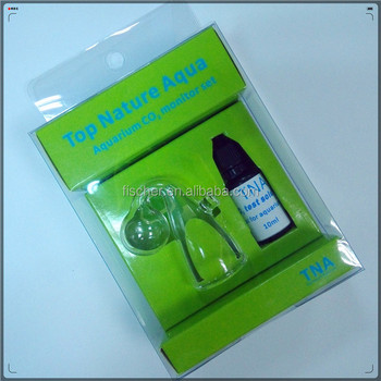 Wholesale High Quality Aquarium CO2 Drop checker- L size+ 10ml CO2 test liquid+sucker+tool