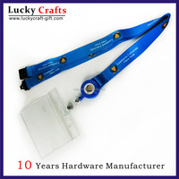 Fashion Style Custom Cute Double Sided Lanyard For ID Badge Holder