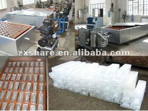 low price brine pool refrigeration ice block plant manufacture