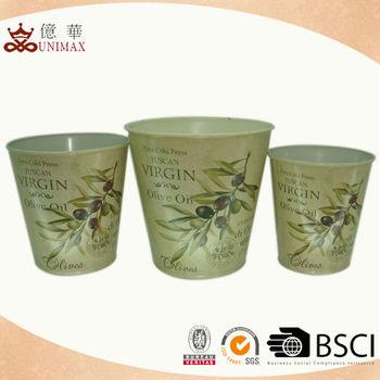 Round fancy design garden flower pot with hot selling for Fancy flower pots