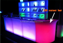 Led Lighted Bar Counter Furniture/outdoor portable event bar counter
