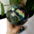 Natural rock labradorite dragon ball crystal ball