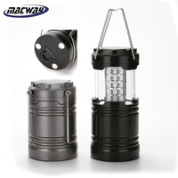 Wholesale Cheap Portable Magnet LED Lantern Lamps Hot Selling Outdoor Collapsible COB Lantern Camping