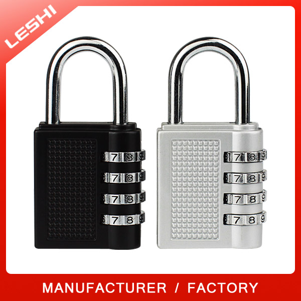 4 Digits Resettable Safe Baggage Lock, Traveling Baggage Combination Lock