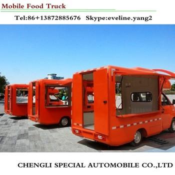 Welp 3 Zijde Open Mobiele Fast Food Truck Te Koop - Buy Voedsel Truck ZI-06