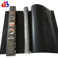 Ptfe fiber glass Non Stick Used Kitchenware anti-oil and flame resistant bbq grill mat