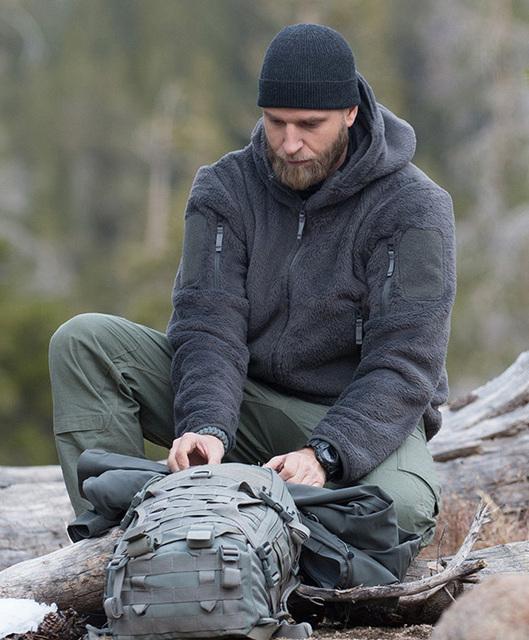 Tad Gear Mens Military Tactical Fleece Winter Jackets Coat