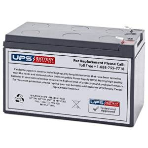APC BackUPS ES 8 Outlet 650VA BE650R New RBC17 Compatible Replacement Battery by UPSBatteryCenter