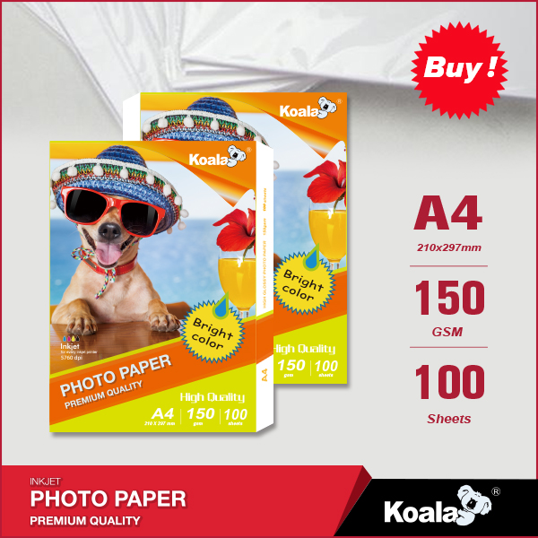 Best selling premium photo glossy paper