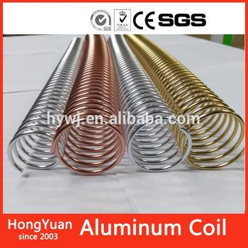 Hot!New Anodized Aluminum Coil, Rose Gold Color Coated Aluminum Coil,New Binding Supply