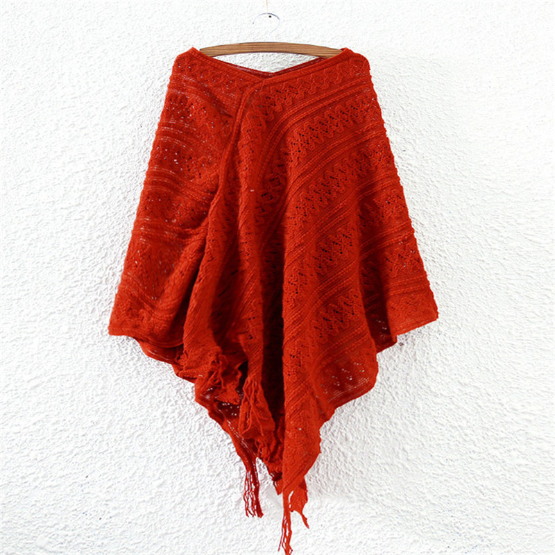 Cheap Red Poncho Sweater, find Red Poncho Sweater deals on line at ...