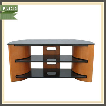 Wooden Corner Tv Stand Designs Rubber Wood Tv Stand