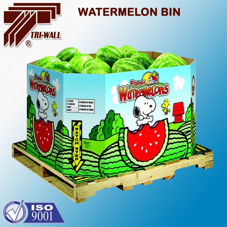 Watermelon Octabin Packing Boxes Export Carton Container Box - Buy  Watermelon Octabin,Export Carton Box,Container Box Product on Alibaba com