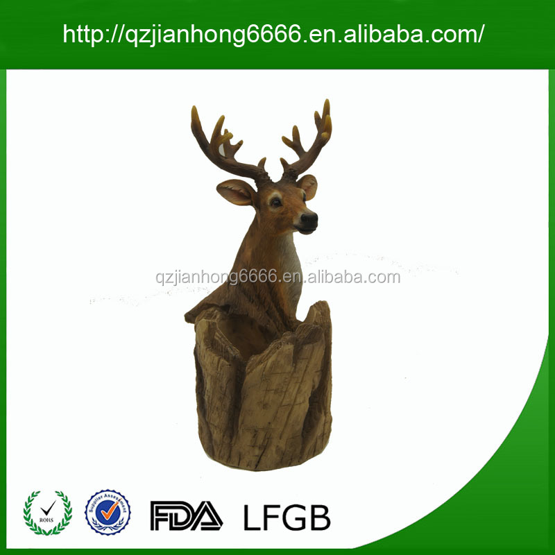 High Quality White Deer Head Artificial Deer Head Wall-mounted Deer Head