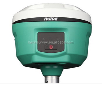 China brand rtk gps Ruide R6 dual-frequency rtk gps equipped with IP 67 waterproof gnss receiver