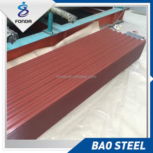 Top quality Chinese supplier corrugated metal roofing sheet