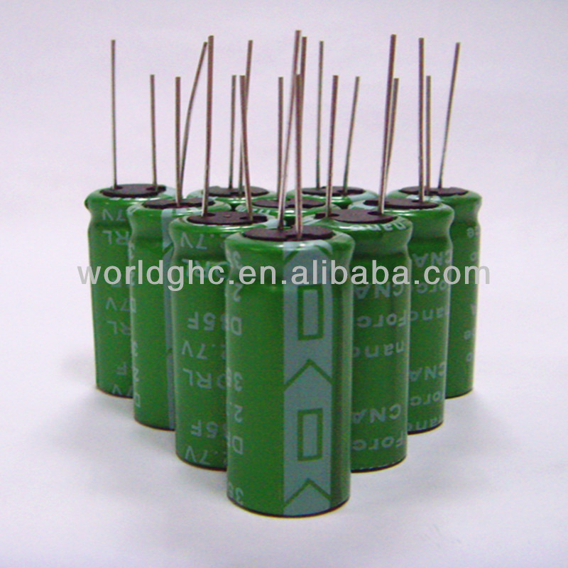 low esr ultra capacitors 2.7v 80 farad