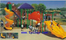 outdoor playground outside playground structure TX-0611A