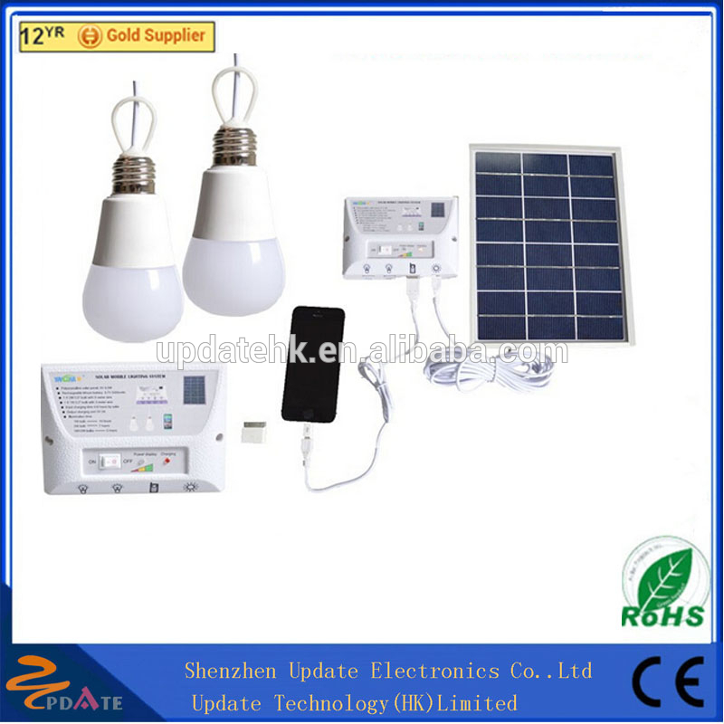 Professional Solar Electricity Generating System For Home With Mobile Phone Charger Home Wind Solar Hybrid Power System