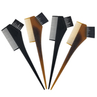 Quality 3 in 1 Salon Hair Dyeing Applicator Plastic Hair Coloring Comb
