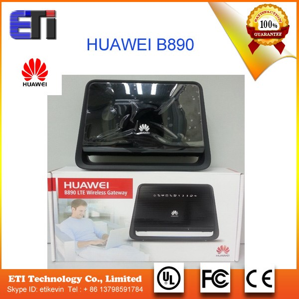 Original Unlocked HADPS 100Mbps HUAWEI B890 4G Wireless Hotspot Gateway Support HSPA/WCDMA 2100/900MHz