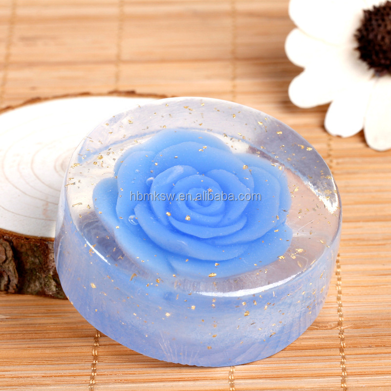 OEM nourishing anti aging whitening plant oil rose soap with private label