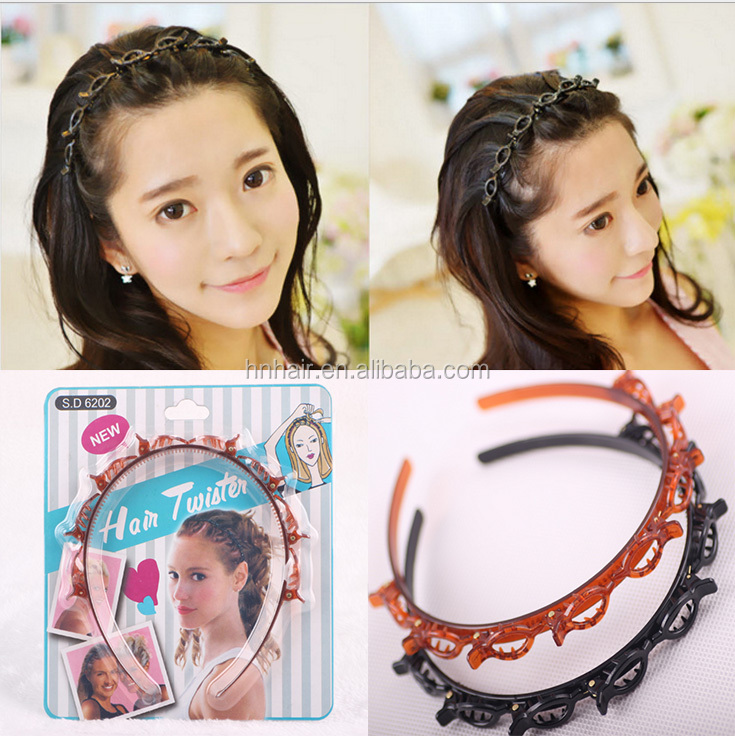 Wholesale New products recommended multi-layer empty blanket bracelet hair band hoop <strong>fashionable</strong>