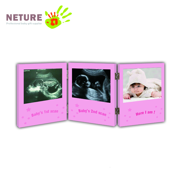Picture Frame for Baby Keepsake gift Ultrasound/Sonogram Images and Baby Photo