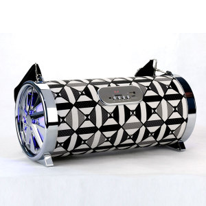 Wholesale Sound Music Mini Audio Speaker Bluetooth with FM Radio carbon fiber speaker cone