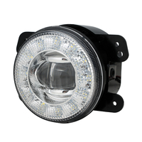 4 inch Round LED fog light + DRL 2 in 1 LED DRL fog light set LED fog light for Jeep Wrangler