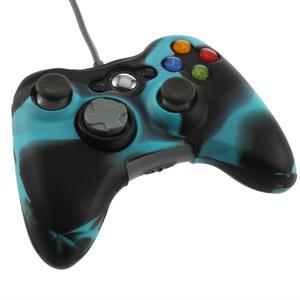 Cool Army Camouflage Silicone Cover Joystick Gel Skin Soft Protective Case for Xbox 360 Wireless Controller