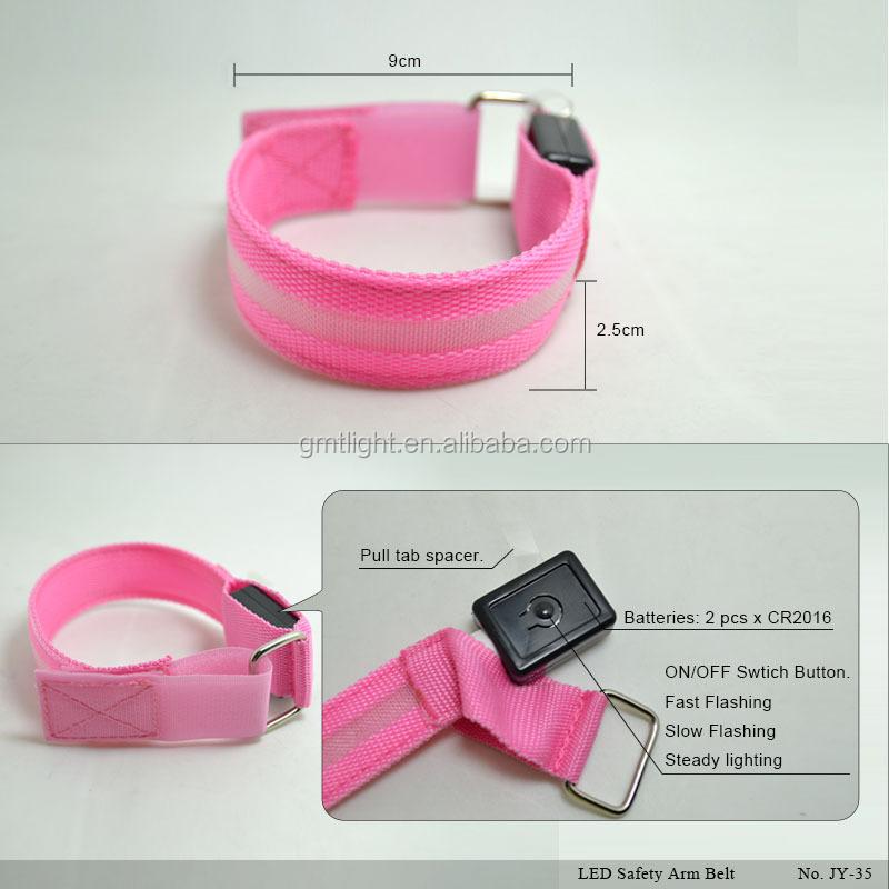 Figure_LED Safety Arm Belt_JY-35_2