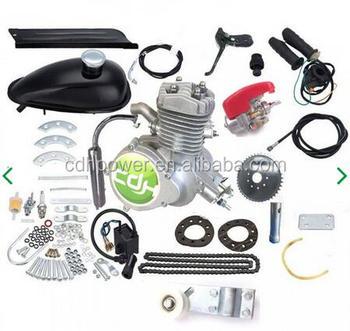 Motorized Bicycle Parts Gasoline Bicycle 2 Stroke Bicycle Engine Kit