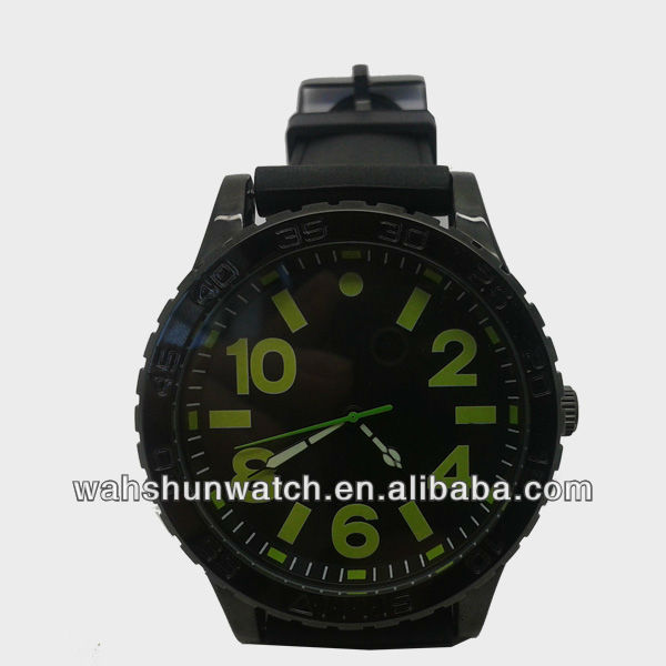 hot selling import quartz brand wholesale ip plating man watch