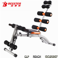 BEST JS-060S EIGHT PACK CARE horse riding fitness equipment