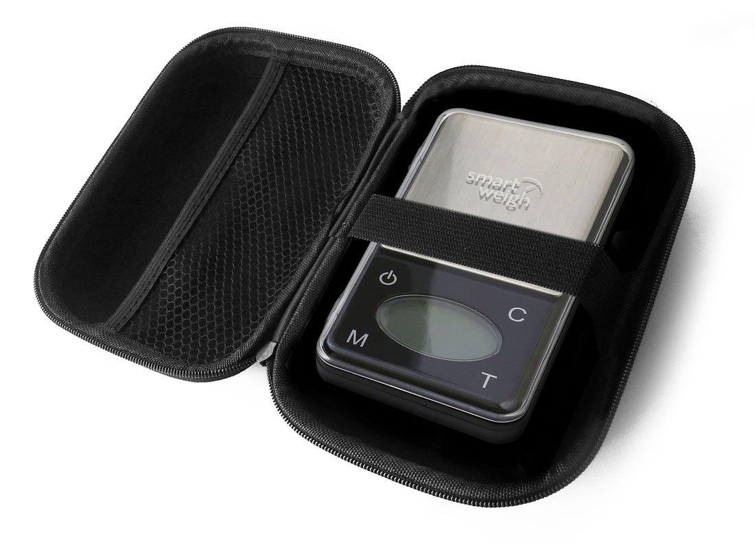 FitSand (TM) Travel Zipper Carry EVA Hard Case for Smart Weigh ZIP600 Ultra Slim Digital Pocket Scale