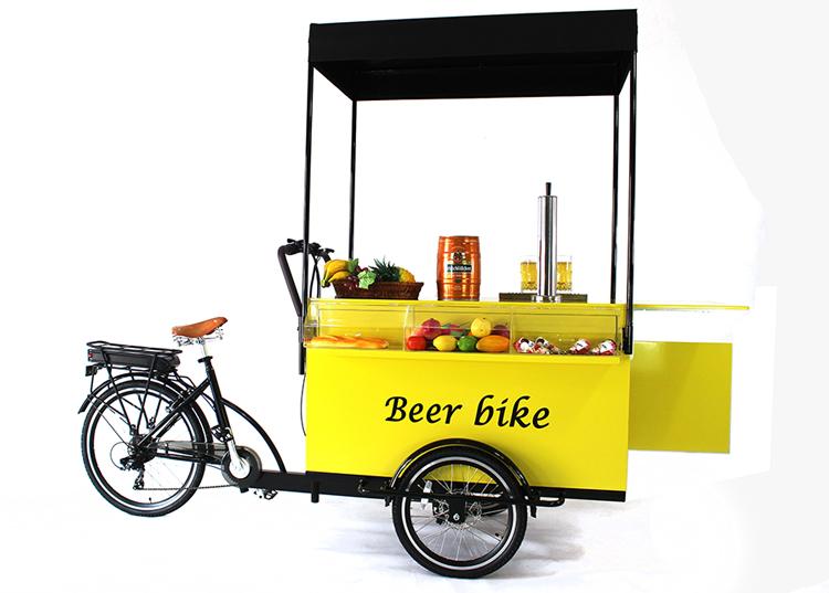3 wheel electrical beer truck /beer bicycle /beer bike for sale