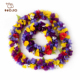 Party supply polyester hawaiian sunflower lei