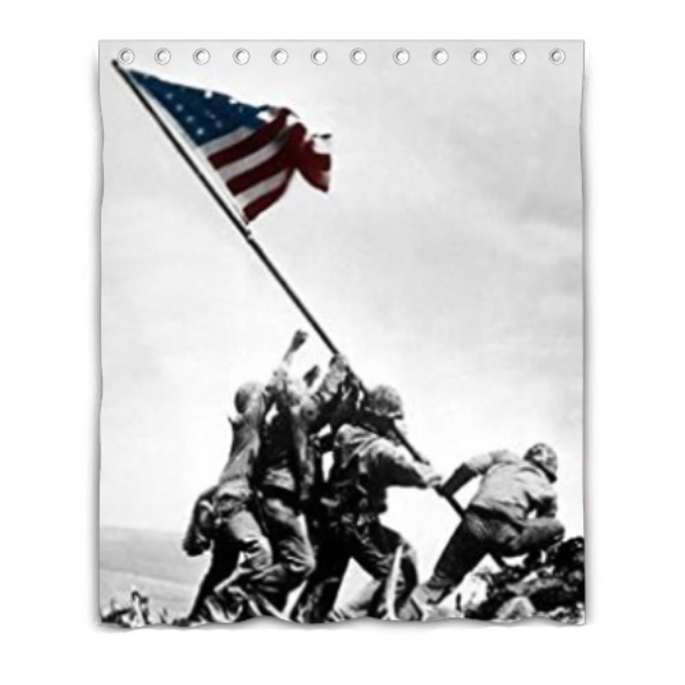 Get Quotations Bernie Gresham United States Marine Corps Mildew Moisture Proof Shower Curtain Custom 60