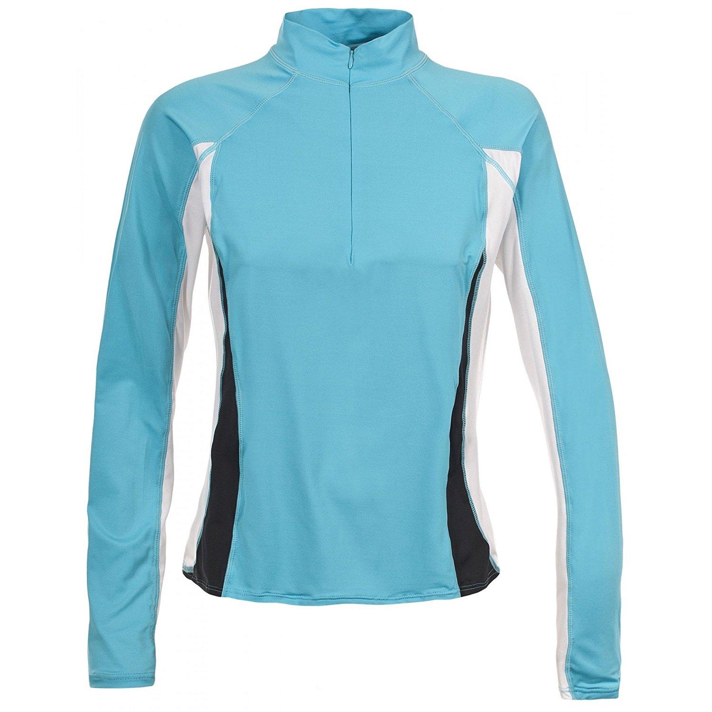 Trespass Womens/Ladies Tussle Active Long Sleeve Zip Neck Baselayer Top